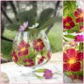 Editos-spalvos - Gėlėta taurė