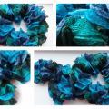 Mėlynas šalikėlis