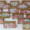 mazojira - kalėdinukai pelėdinukai