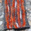 Pilkai oranžinės