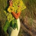 Žaliai geltonas skylėtukas