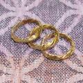 Žalvariniai žiedai suktukai