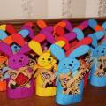 Krepšeliai dovanėlėms Kiškučiai