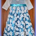 mmnVilija - nerta krikštynų suknelė mergaitei
