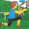 """Tenisas """"Papyvesio """" slėnyje"""