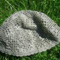 Kepurė iš natūralaus lino