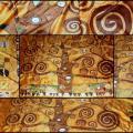 Šilko šalis pagal Klimtą
