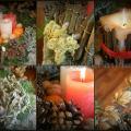 advento vainikas / kalėdinės dekoracijos