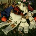dėdė Derlius / megztos vilnonės kojinės