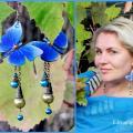 Editos-spalvos - Mėlyni drugeliai
