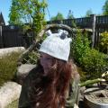 "EiliuotaVILNA - velta kepurė ""kalno viršūnė"""