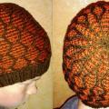 Knitfinity - Dvispalvė šilta kepurė