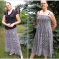 Knitfinity - Ilgas sijonas