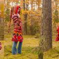 Knitfinity - Margas paltas su gobtuvu
