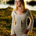 Knitfinity - Medvilninė suknelė