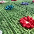 Vaikiškas apklotas (pledukas) Gėlių pieva 3
