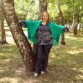 Žalias (smaragdinis) universalaus dydžio megztukas - kardiganas