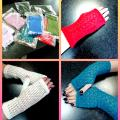 Aushra - Baltos, mėlynos, žalios, rožinės, salotinės riešinės