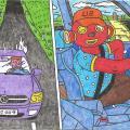 Burtininkas Tukurutis moka ir gerai vairuoti