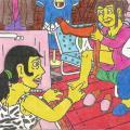 Dragonų pora irgi ruošiasi Katinų vestuvėms, Nyciuose