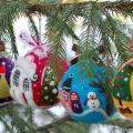 """fancycolor - Kalėdiniai eglutės papuošimai """"Linksmieji burbulai"""""""