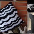 Juoda - balta, balta - juoda :) :) :) siūlai - linas...