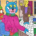 Katinai susitiko su Petraičiais iš Šiaulių