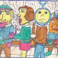 Kitas senas dešimtokų Šimtadienis Kėžių kaimo mokykloje