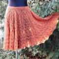 Knitfinity - Kiauraraštis sijonas