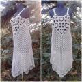 Knitfinity - Lininė nerta suknelė