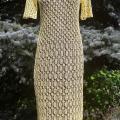 Knitfinity - Saulėta lininė suknelė