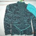 Megztinis ir šalikas- mova 7 metų mergaitei