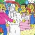 Naitmeno ir Marijanos vestuvių svita parvažiavo namo, į Nycius