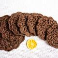 Nerta servetėlių  rinkinys rudas