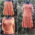 Oranžinis kostiumėlis
