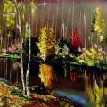 Ruduo plaukia mišku