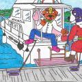 Sukakties paminėjimas jachtoje
