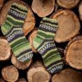 Vaikiškos margos kojinės