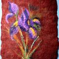 """Wool-shred - Veltas paveikslas """"Irisai"""""""