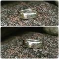 Žiedas sidabrinis