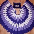 Alyvinės pelėdos vaikiškas karnavalinis kostiumas