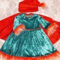 baltabalta - Nykštukės karnavalinis kostiumas mergaitei