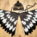 baltabalta - Paukščio, paukščiuko, žvirblio, žvirbliuko karnavalinis kostiumas vaikams**