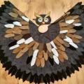 baltabalta - Pelėdžiuko vaikiškas karnavalinis kostiumas **