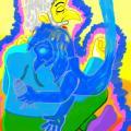 Burtininkas Malkomas pasinėręs į meditacijos seansą