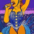 Dainininkės Kylie Minogue visas seksualumo proveržis gyvo koncerto metu