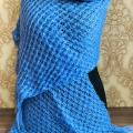 GP-1065 Šviesiai mėlynos spalvos šalikas