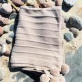 GP-1260 Merino vilnos pledukas smėlio spalvos