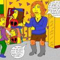 Kėžių kaimo mokykloje Karolina kovoja su rūkymo plitimu 8