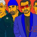 """Mano meilė muzikos grupei """"U2"""""""